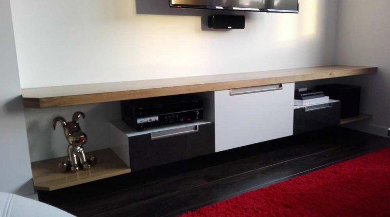 meuble tv hi fi patrice barbot agencement. Black Bedroom Furniture Sets. Home Design Ideas